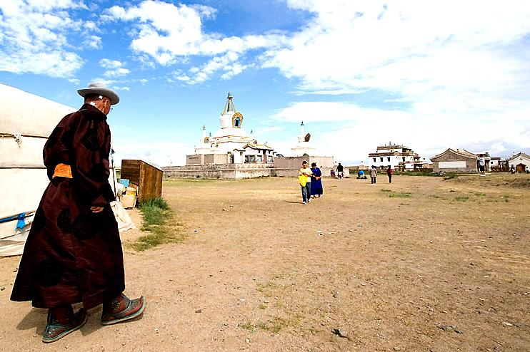 Village in Mongolia