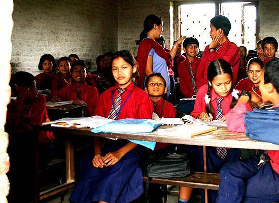 Class Tri Ratna school