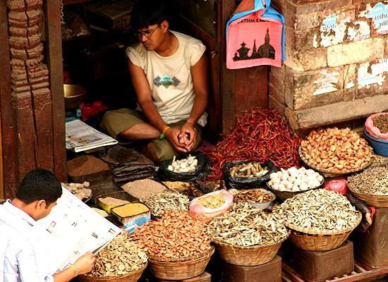 Durbar square seller