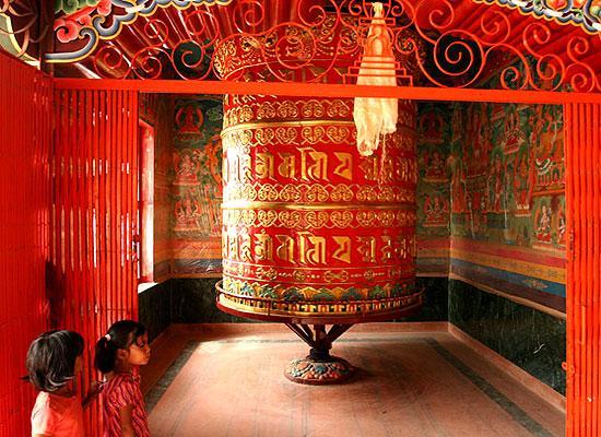 Inside temple Kathmandu