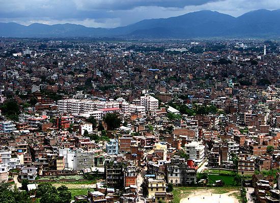 Kathmandu view