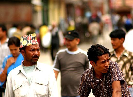 On streets of Kathmandu