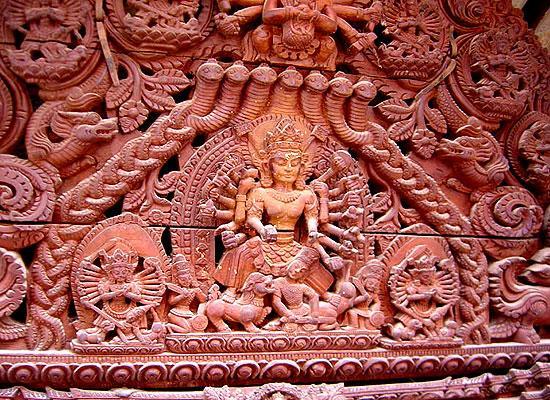 Statue in Bhaktapur