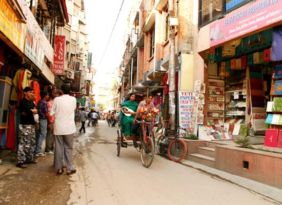 Streets of Thamel