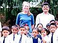 First school on Kathmandu