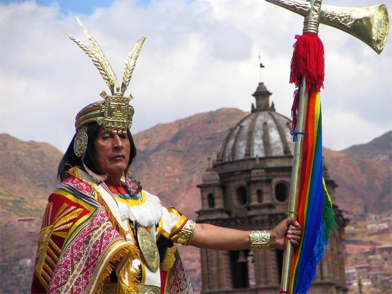 Festival Inti Rymi à Cusco, au Pérou