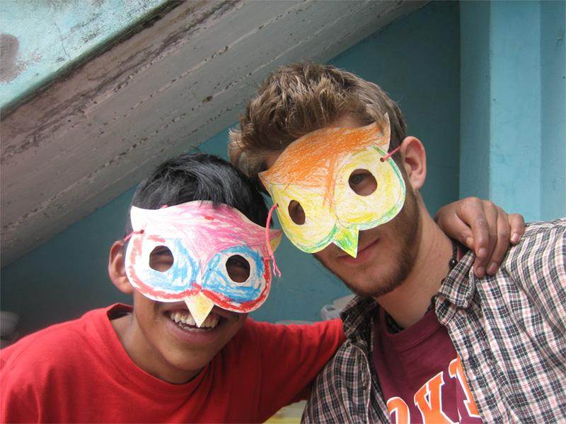 Volontaire dans un centre pour enfants handicapés au Pérou