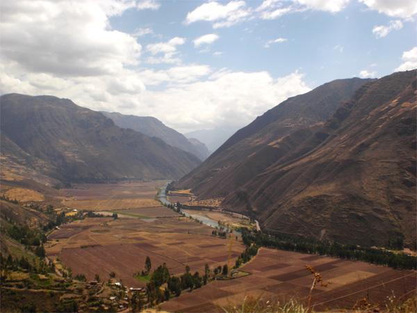 Paysage de la Vallée Sacrée, au Pérou