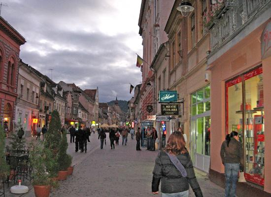 Evening in Brasov