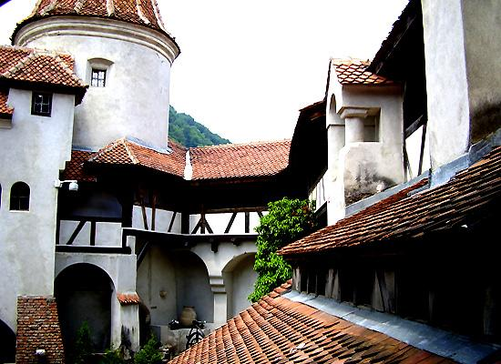 Inside view Bran castle