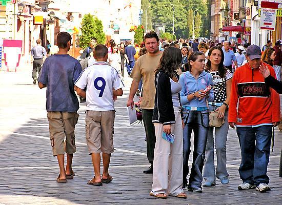 Republicii street Brasov
