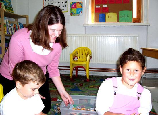 Volunteer at orphanage