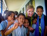 Volunteer in Samoa