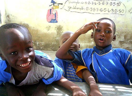 Children at El Hadj Sij