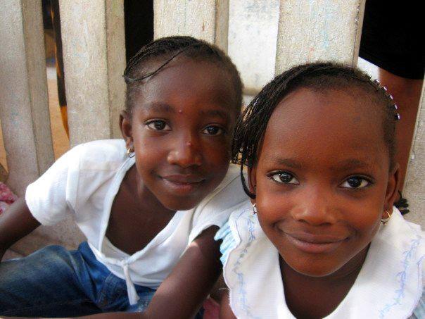 Jeunes élèves au Sénégal