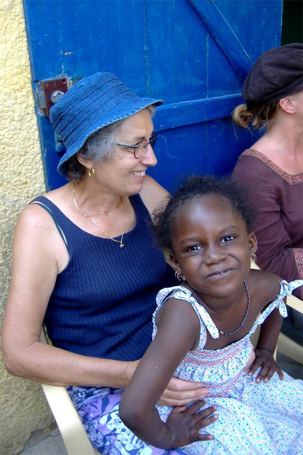 Volontaire sur une mission humanitaire au Sénégal
