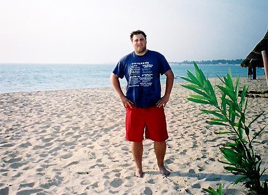 Volunteer on the beach