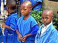 Kids from care centre
