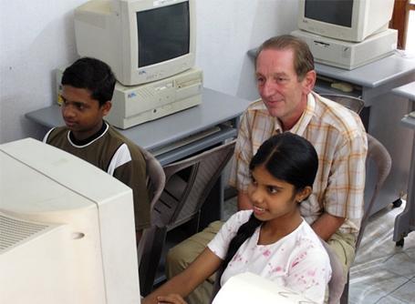 Mission d'enseignement de l'informatique au Sri Lanka