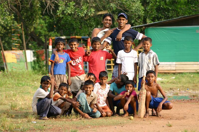 Équipe de criquet au Sri Lanka