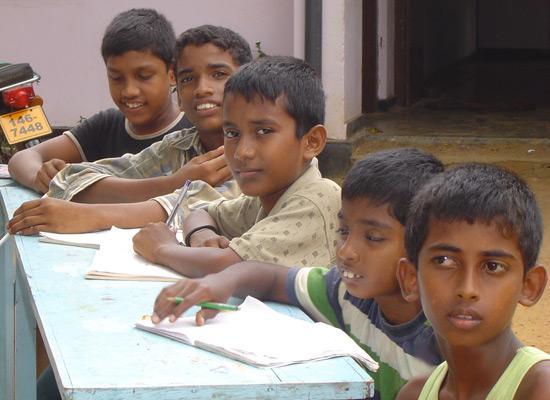 Jayanthi orphanage boys