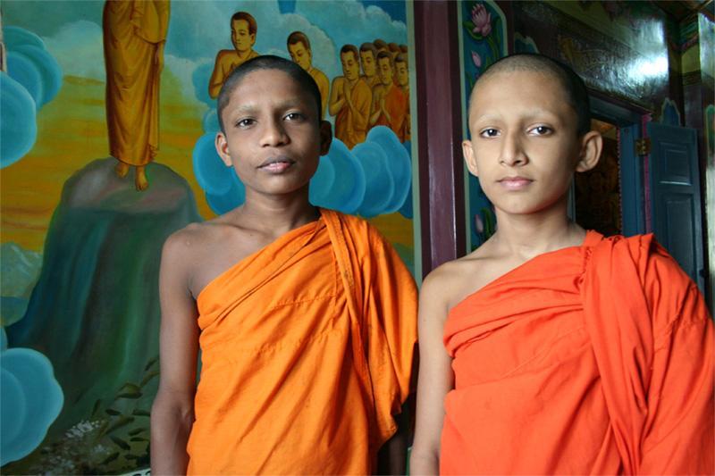 Jeunes monks