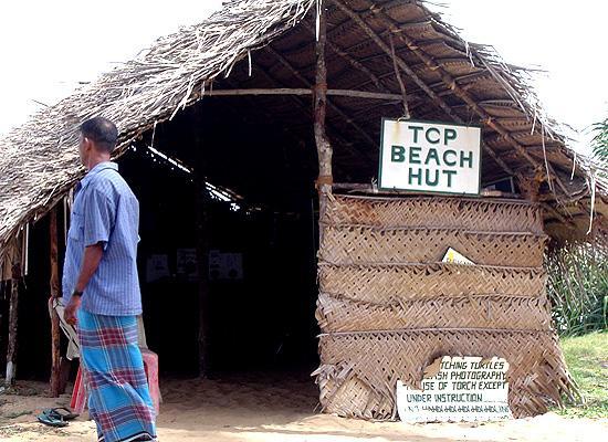 Rekawa beach hut