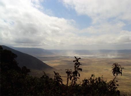 Paysage de montagnes en Tanzanie