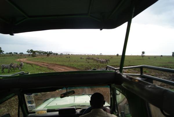 Paysage en Tanzanie