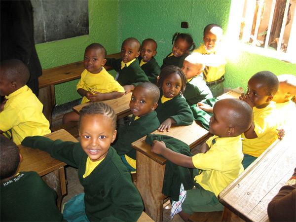 Sourires d'enfants en Tanzanie