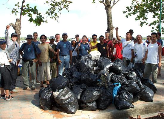 392kg of Rubbish from Koh Klang