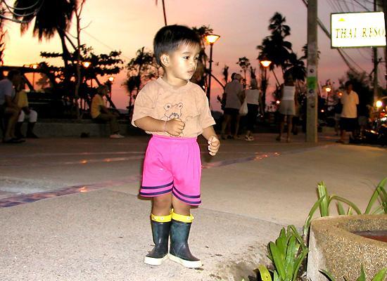 Thai Kid on Street