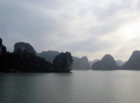 La baie Halong, au Vietnam