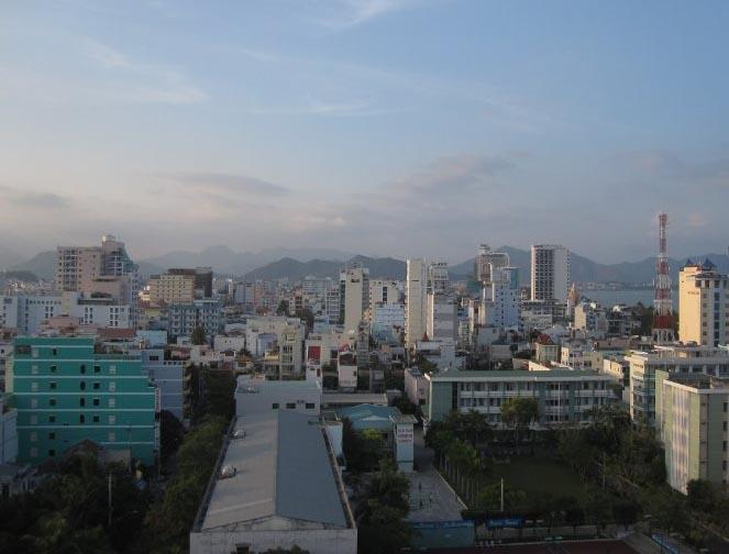 Vue de la ville au Vietnam