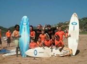 Volontaire mission sport surf