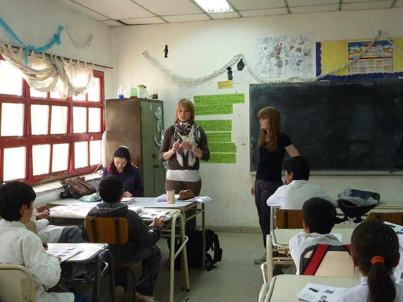 Volontariat enseignement