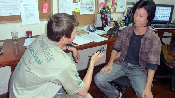 Interview stage journalisme