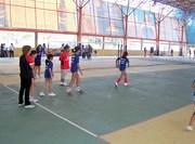 Equipe de Volley-ball sur le terrain