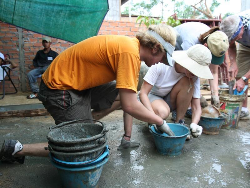 Volontaires en activité