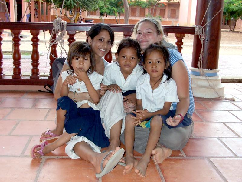 Volontaires en humanitaire