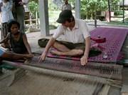 Travail communautaire tissage des tapis