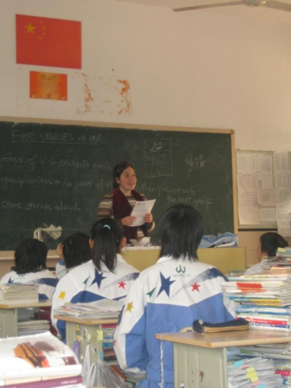 Bénévole enseignement anglais