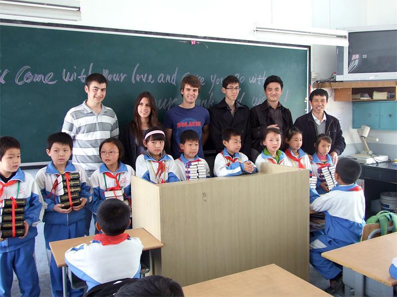 Volontaires en enseignement