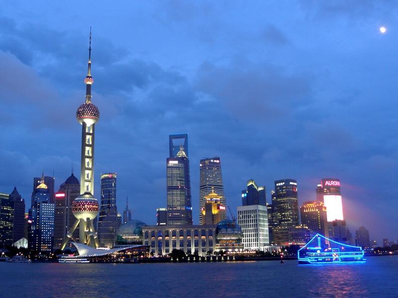 Vue sur la Rivière Huangpu