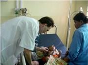 Médecin volontaire sur le terrain