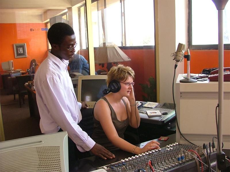 Formation journalisme radio
