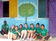 Aide humanitaire en orphelinat