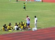 Bénévolat entraînement football