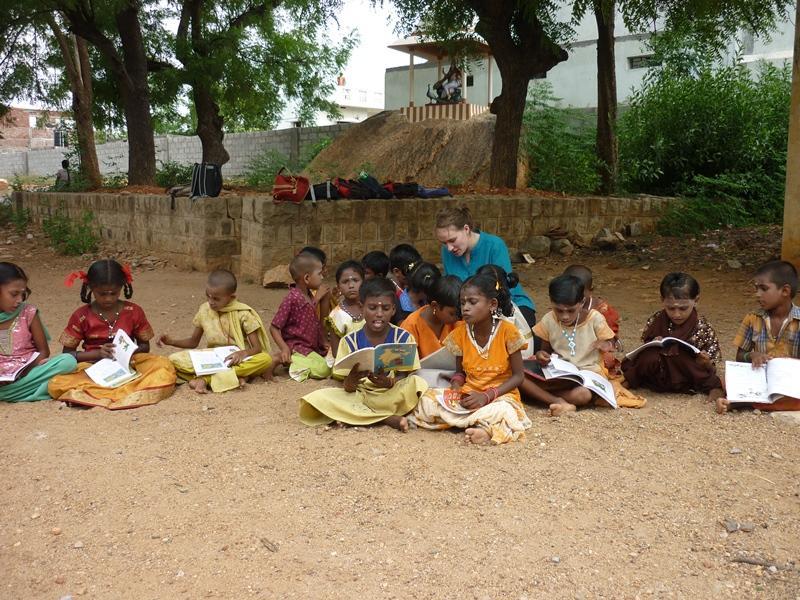 Leçon d'anglais humanitaire