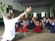 Activité éveil physique humanitaire